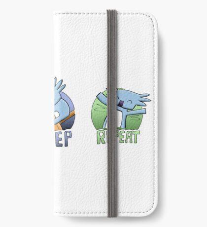 Cute Koala - Eat Sleep Repeat iPhone Wallet