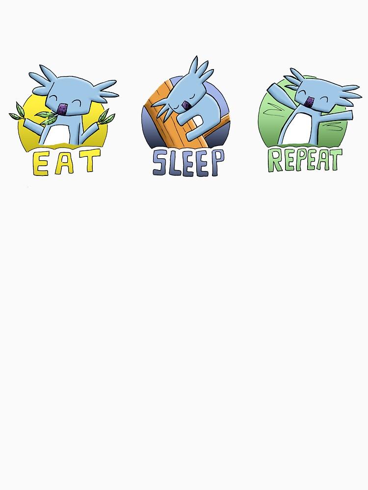Cute Koala - Eat Sleep Repeat by eddcross
