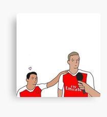Sanchez and Per Canvas Print