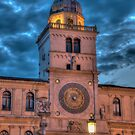 Torre dell orologio, Padova, Italy by Erik Schlogl