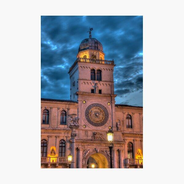 Torre dell orologio, Padova, Italy Photographic Print