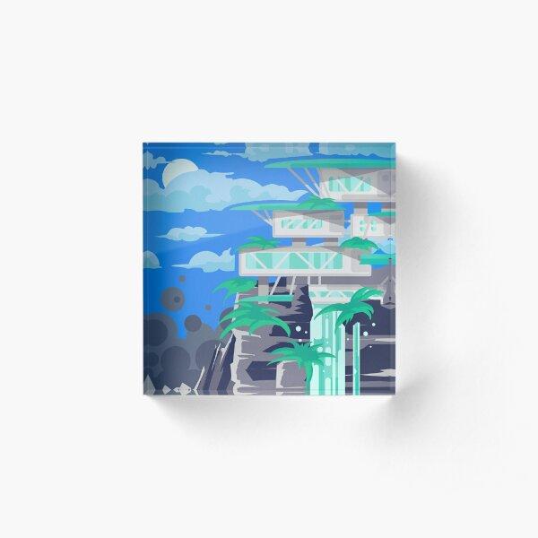 Heleus - Aya Acrylic Block
