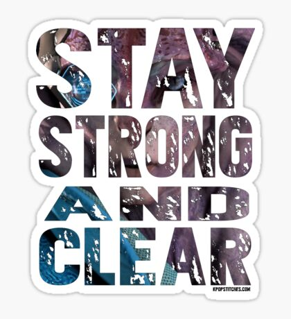Stay strong and clear Jaal image Mass Effect Andromeda Angaran Angara Sticker