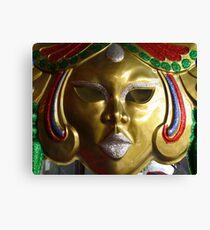 Carnival Mask Canvas Print