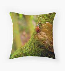 Your Tree, My Mountain Throw Pillow