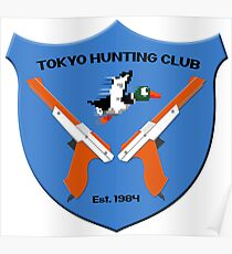 Tokyo Hunting Club Est. 1984 Poster