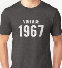 Retro Vintage 1967 Awesome 50th Birthday Gift T-Shirt