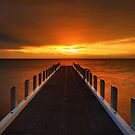 North Road Jetty - Brighton by Jim Worrall