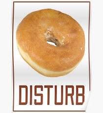 Donut Disturb Poster