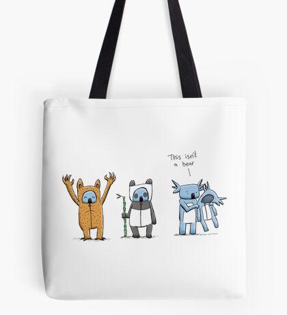 Koala Is Not A Bear Tote Bag