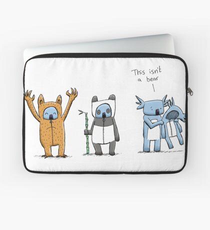 Koala Is Not A Bear Laptop Sleeve