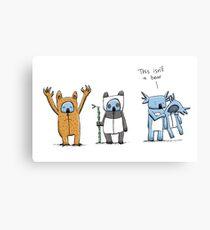 Koala Is Not A Bear Canvas Print
