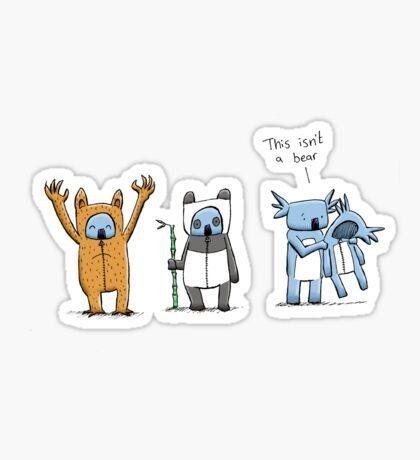 Koala Is Not A Bear Sticker