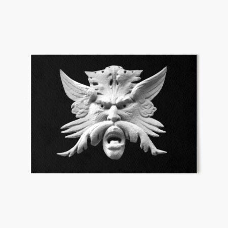 Winged Mask Art Board Print