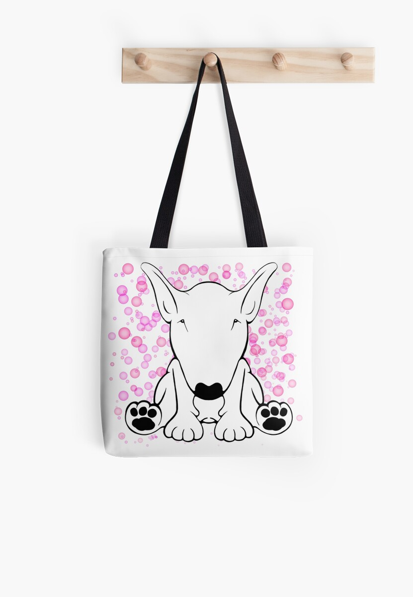 English Bull Terrier Forward Sit by Sookiesooker