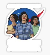 Hidden Figures Sticker