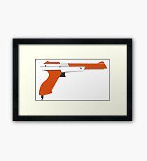 Classic Nintendo Zapper Framed Print