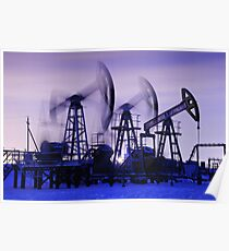Oil pumps Poster
