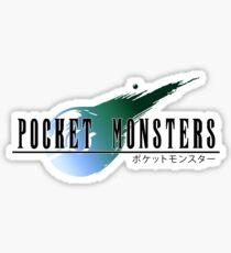 Final Pokemon Fantasy VII Sticker
