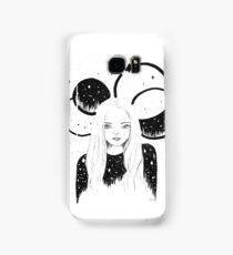 [Simple Stars] b&w celestial surrealism Samsung Galaxy Case/Skin
