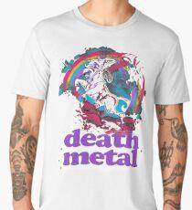 Death Metal Einhorn Männer Premium T-Shirts