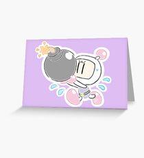 An explosive encounter Greeting Card