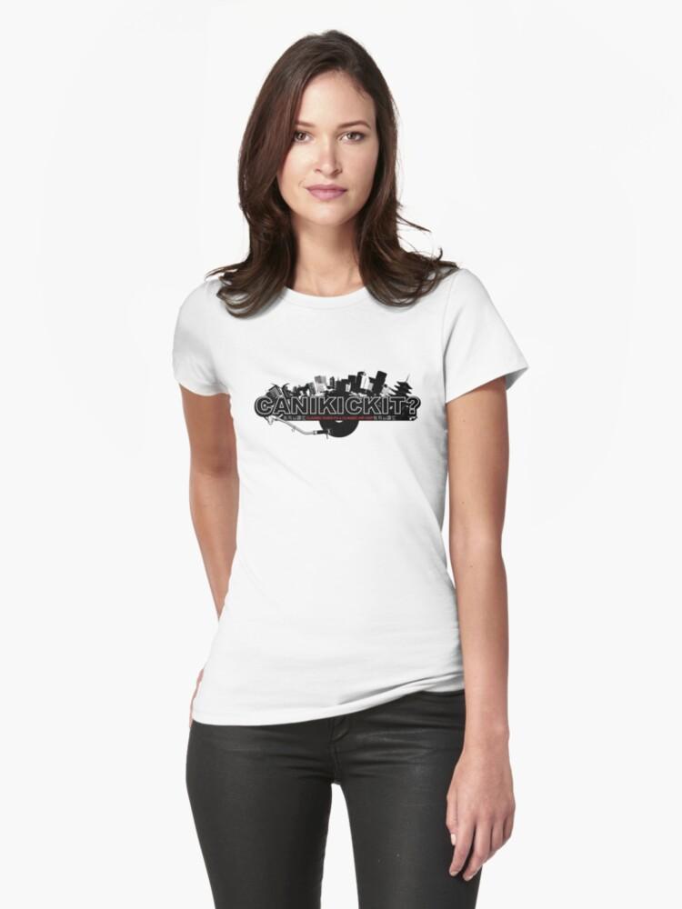 CAN I KICK IT? - City Womens T-Shirt Front