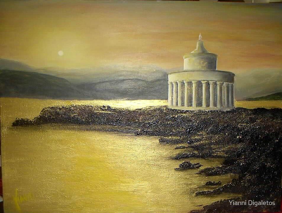 Kefalonia lighthouse - Fanari by Yianni Digaletos