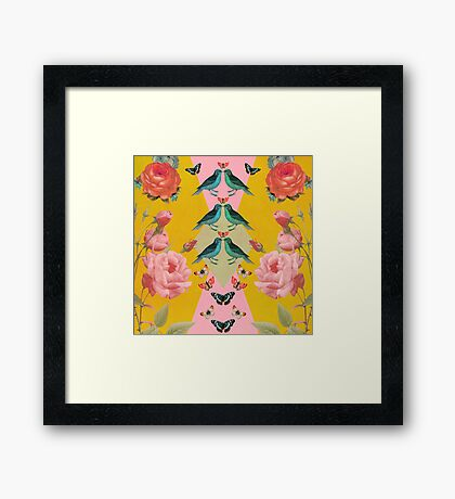 Love Birds Framed Print