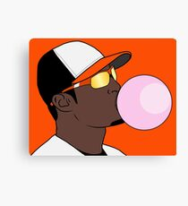 Bubble Gum Jones Canvas Print