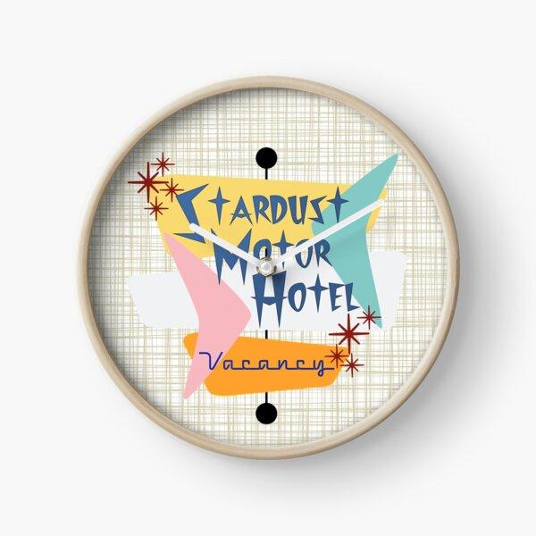 Stardust Motor Hotel (Bkgrnd) Clock