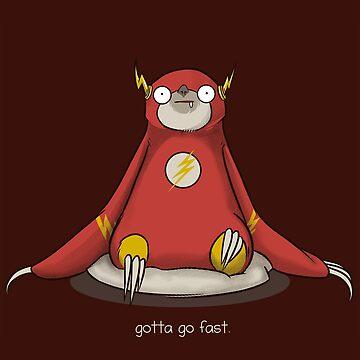 Gotta Go Fast by AlanBaoArt