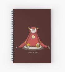 Gotta Go Fast Spiral Notebook