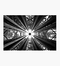 Anthony Chapel Bell Tower - Geometry Photographic Print