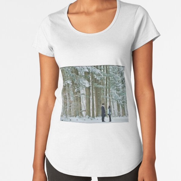 Goblin The Lonely Guardian Winter Meeting Premium Scoop T-Shirt