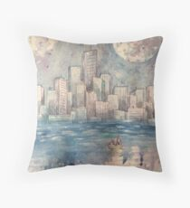 Cities Cannot Be Drowned Throw Pillow