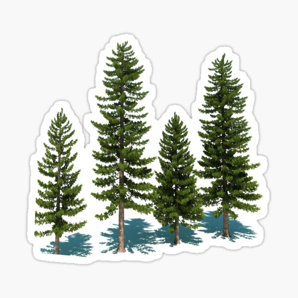 Among The Trees Sticker