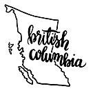 British Columbia Outline by grainnedowney