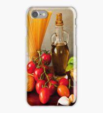 Italian pasta, arrabbiata sauce recipe iPhone Case/Skin