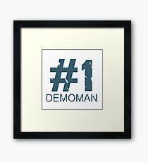 Demoman Mug Design (BLU) Framed Print