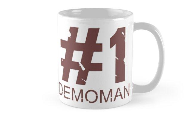 Demoman Mug Design  by Ilona Iske