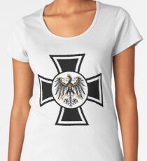 Prussian Eagle Cross Women's Premium T-Shirt