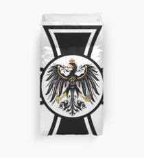 Prussian Eagle Cross Duvet Cover