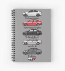 MK4 Five Jet Spiral Notebook