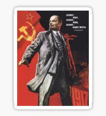 Lenin poster 1967 Sticker