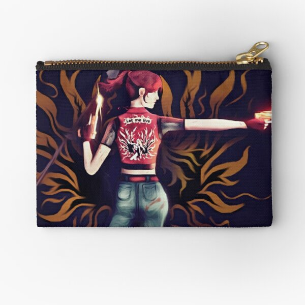 Claire Redfield : Let me live | Resident Evil Zipper Pouch