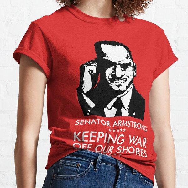 Senator Armstrong Presidential Campaign - Metal Gear Rising: Revengeance Classic T-Shirt