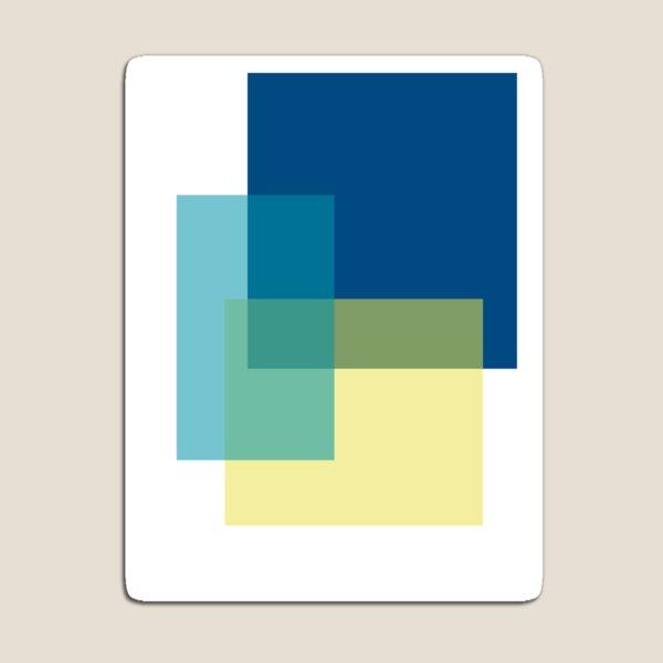 Blues Color Block Magnet