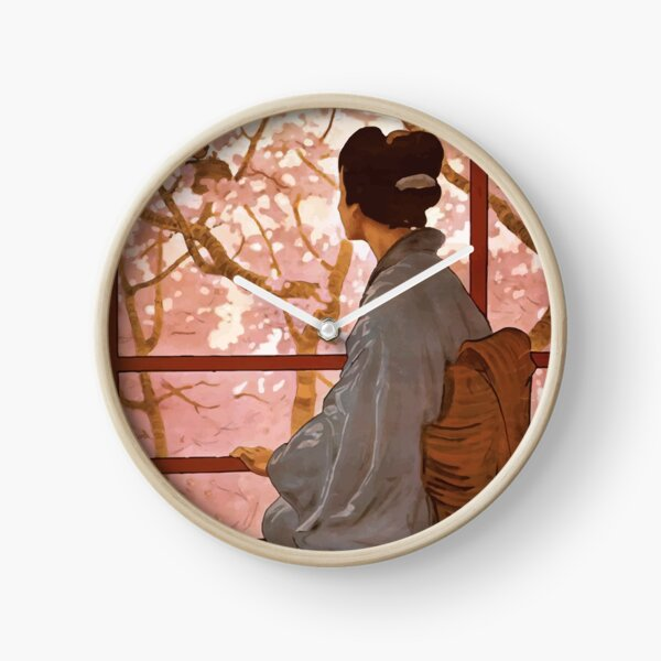 Madama Butterfly Vintage Clock