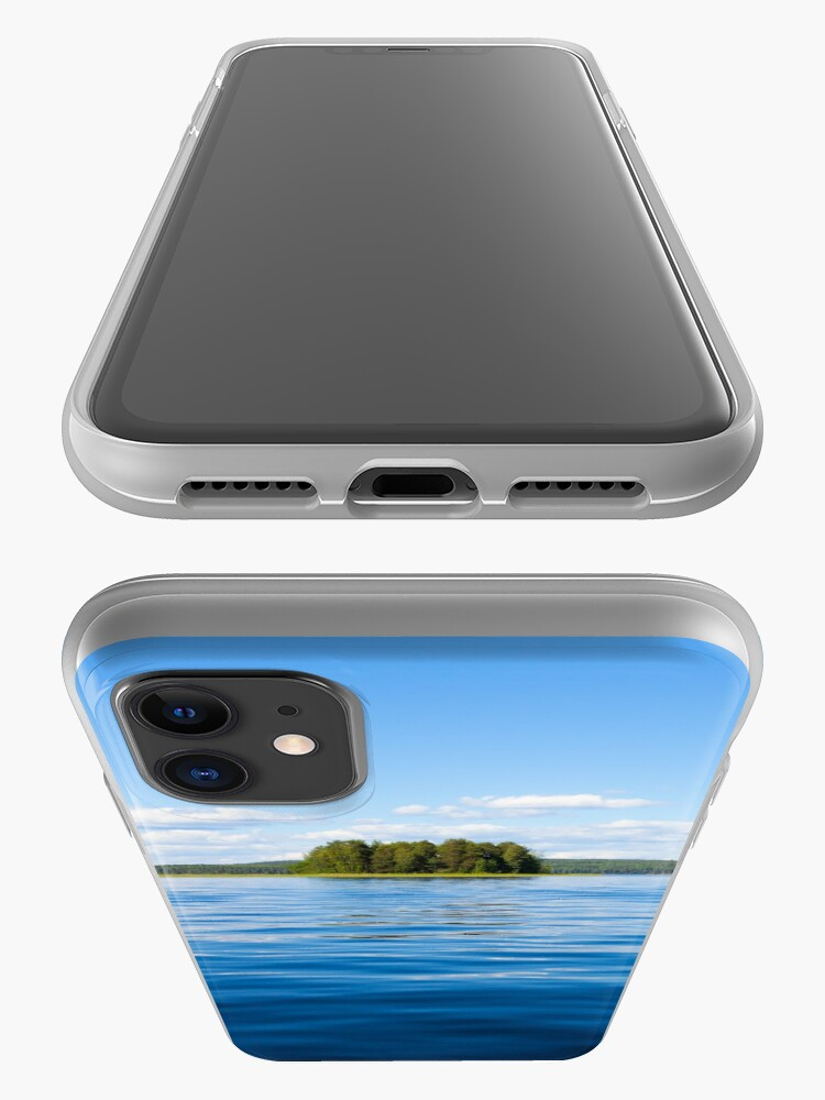 Alternate view of Finland lake scape at summer iPhone Case & Cover
